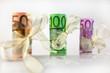 Geldgeschenke 100 Euro im Fokus