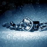 Fototapeta ring - pierścienie - Biżuteria