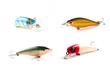 Fishing Lures with isolated background