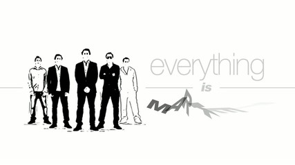 Everything is marketing slogan video black and white team