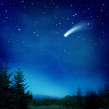 Fototapety Falling star