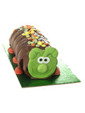 Chocolate Caterpillar Cake
