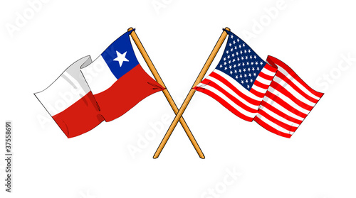 America and Chile alliance and friendship