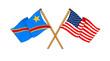 America and Democratic Republic of the Congo alliance and friend