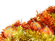 Orange-Yellow Christmas Decorations
