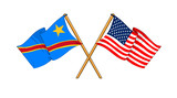 America and Democratic Republic of the Congo alliance and friend