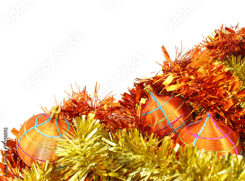 Orange-Yellow Christmas Decorations