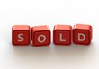 Cubes: sold