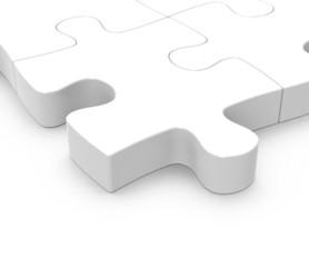 Das weiße Puzzle