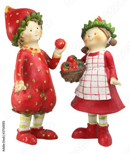 Erdbeerpflückerinnen