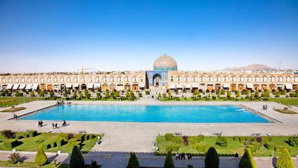 Sheikh Lotfollah mosque on  Naqsh-i Jahan Square, Esfahan, Iran