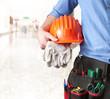Leinwanddruck Bild - Maintenance technician -Tecnico