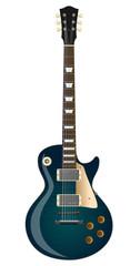 Blue Burst Les Paul