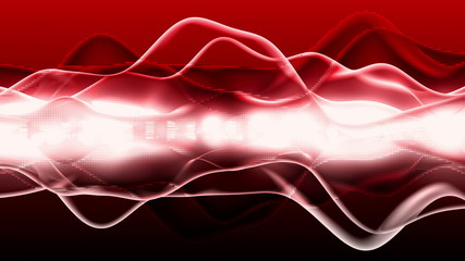 Red Energy Flow - Motion Background 85 (HD)