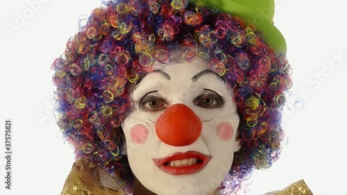 la tristezza del clown