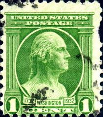 1732 Washington 1932. US Postage.