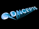 Concepts Text In Blue And 3d As Symbol For Design And Creativity