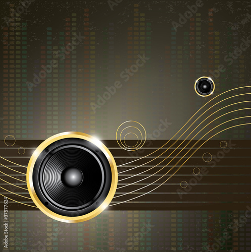 Modern music background