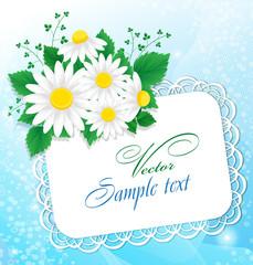 букет цветов и письмо