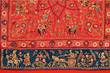 embroidery on fabric, royal Rajasthan, India