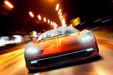 Fototapety Fast Sportscar