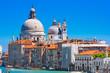 Basilica Santa Maria della Salute, Canal Grande, Venice, Italy