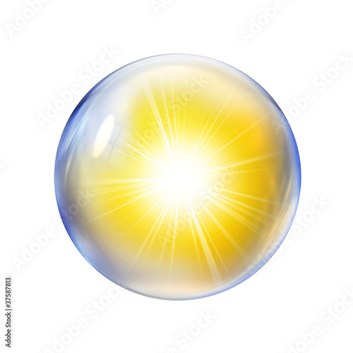 sunlight in bubble