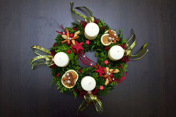 beautiful advent wreath