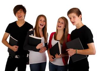 20.11.11 Teenager mit Bewerbung