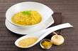 Risotto zafferano e curry