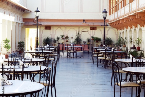 Cafeteria at City Palace, Jaipur