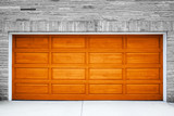 Fototapety Brown Garage Door