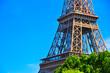 Eiffel tower detail view