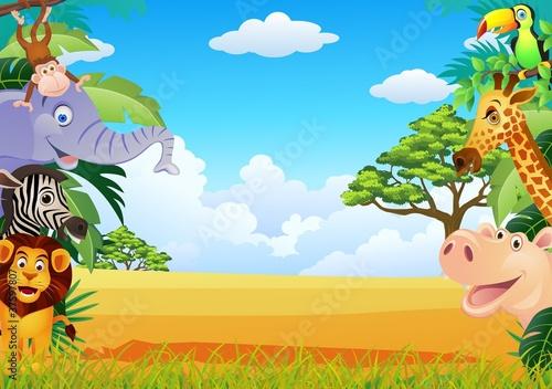 kreskowka-zwierzat-safari