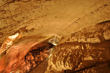 Cave Vorontsovskaya, Sochi national park, Russia