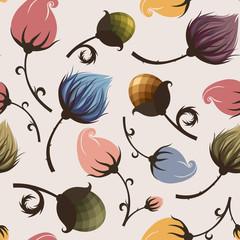 цветы пастельных оттенков