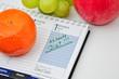 Diät Termin im Kalender notiert