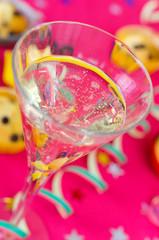 Sektglas zu Silvester