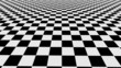 abstract checkerboard with blur end loopable