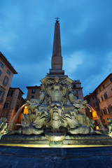 Fontana del Pantheon in Roma