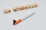 No Smoking schriftzug