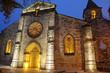 façade de l'église d'Auvillar dans le Tarn et Garonne