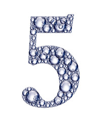 number five bubbles