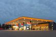 Leinwanddruck Bild - gas station