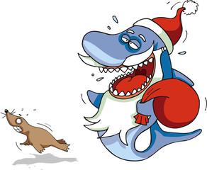 Shark Santa