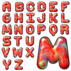 abc alphabet background moher design