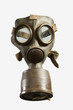Vintage Gas Mask Ispolated on White Background