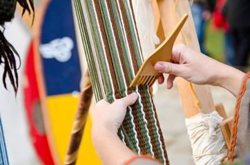 Tessere la lana