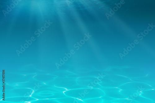 Fotobehang Koraalriffen Underwater background