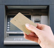 withdraw money from the credit card